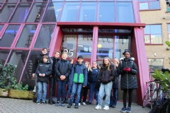Entrepreneurship Finalists Visit London Businesses