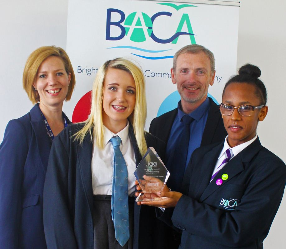 BACA wins IAA Best Practice Award for Partnerships with the Wider Community