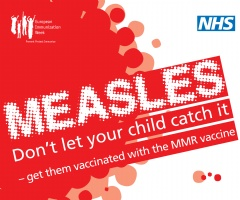 Public Health England: Measles Case Information