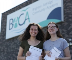 Year 11 Students Celebrate Wonderful GCSE Results