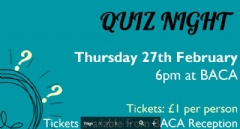 Parents' Forum Quiz Night 27th February